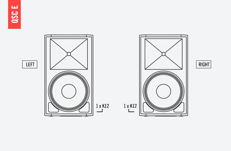 QSC E SoundSystem